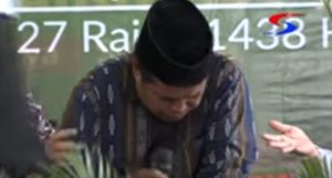 Detik detik seorang Qori meninggal dunia di Surabaya.