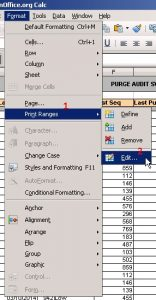 Multi Header/Kop Surat di Open Office Calc