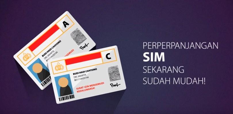 PANDUAN PERPANJANGAN SIM ONLINE