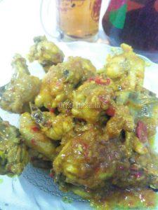 Resep Ayam Kuning Pedas