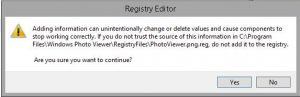 Install Windows Photo Viewer di Windows Server 2012 R2