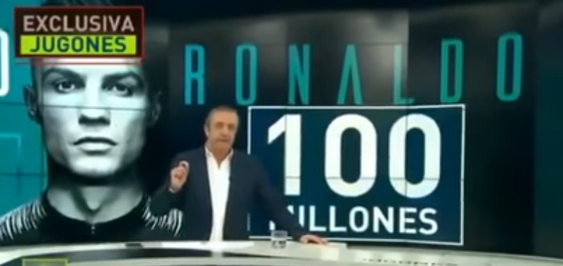Harga Fantastis Christiano Ronaldo ke Juventus 2018