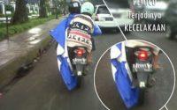 Tips Memakai Jas Hujan Ponco Agar Terhindar dari Bahaya Kecelakaan