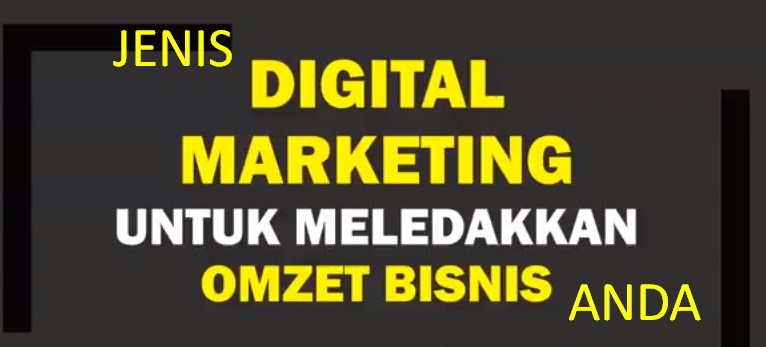 Macam Jenis Digital Marketing