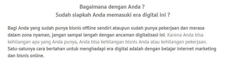 Belajar Bisnis Online di Angke Jakarta Hub. 087878211823