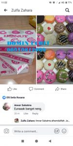 08979012689 Jual Donat Mini murah di Jalan Sungai Kampar Raya Jakarta Utara