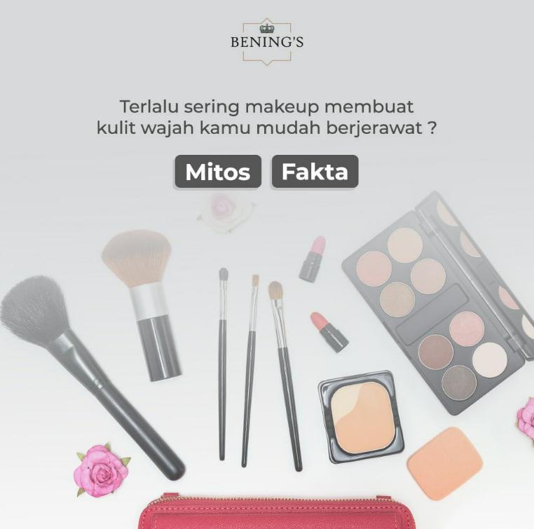 Benarkah Sering Pakai Makeup Bisa Bikin Jerawatan?