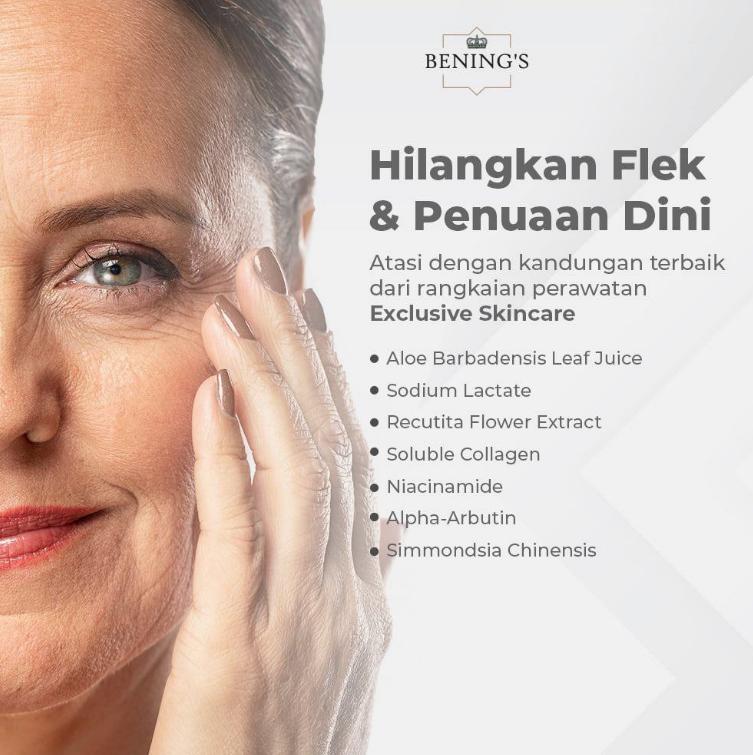 Cara lawan tanda penuaan dini & Flek di wajahmu